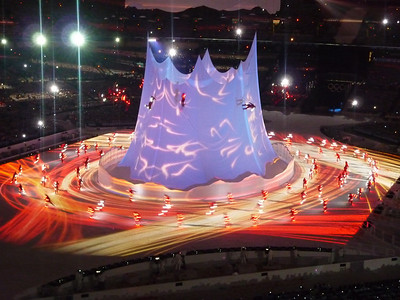 Winter Olympics - Opening ceremonies