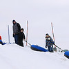 Record-Eagle/Keith King<br /> Tubers prepare to descend the tubing hill Saturday, February 18, 2012 during the Cherry Capital Winter WowFest.