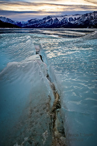 Beautiful Blue Ice