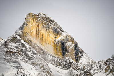 Mount Wilson, Banff National Park, in early winter