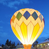 Saturday evening balloon glow