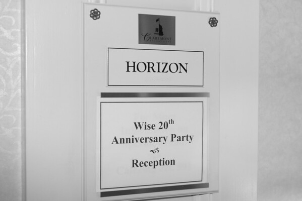 Wise 20th Anniversary B&W