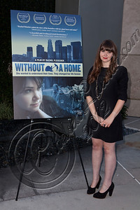 "HOLLYWOOD, CA - MAY 29:  Filmmaker Rachel Fleischer arrives at Hollywood 4WRD hosts a special benefit screening of ""Without a Home"" at ArcLight Hollywood on May 29, 2012 in Hollywood, California.  (Photo by Chelsea Lauren/WireImage)"