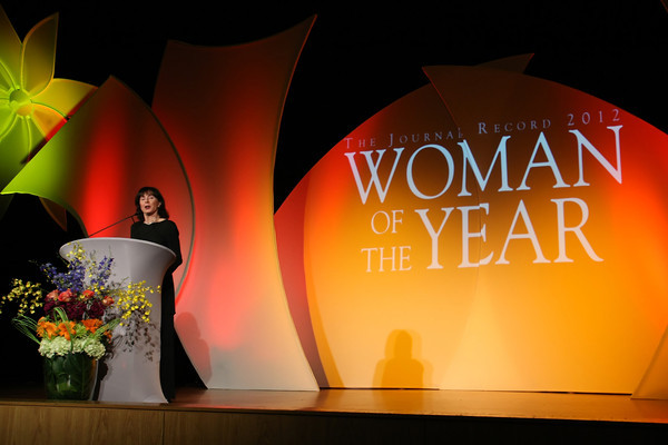 The winner of the women of the year