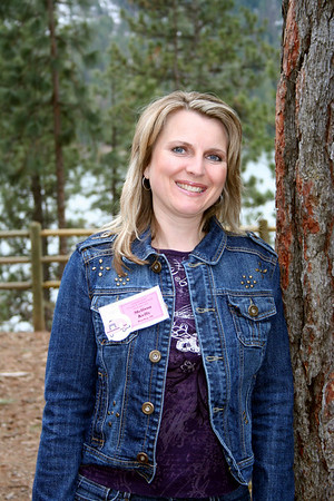 Melissa at Lutherhaven's Womans retreat. March 2011