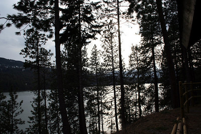 View of Lake Coeur d' Alene from Camp Lutherhaven.