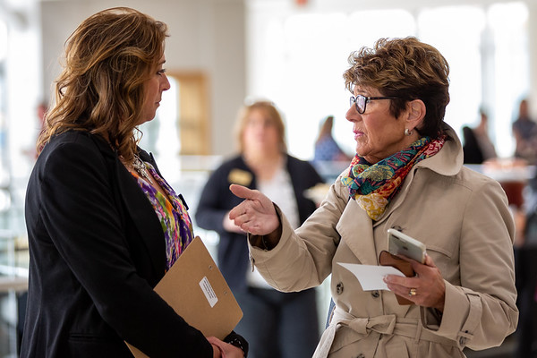 Women in Leadership 2019 hosted by the Columbus Area Chamber of Commerce, Indiana. Photo by Tony Vasquez.