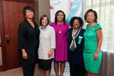Women of Distinction Awards Luncheon Girl Scouts Hornet Nest @ The Westin 9-19-17 by Jon Strayhorn