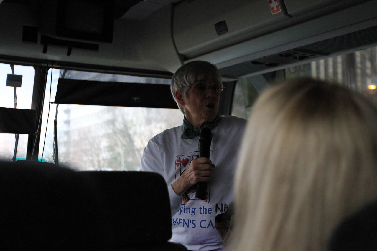 To our bus captain Henley - thank you for imparting encouraging words and valuable information. Thank you for being one small cog in a very large wheel.