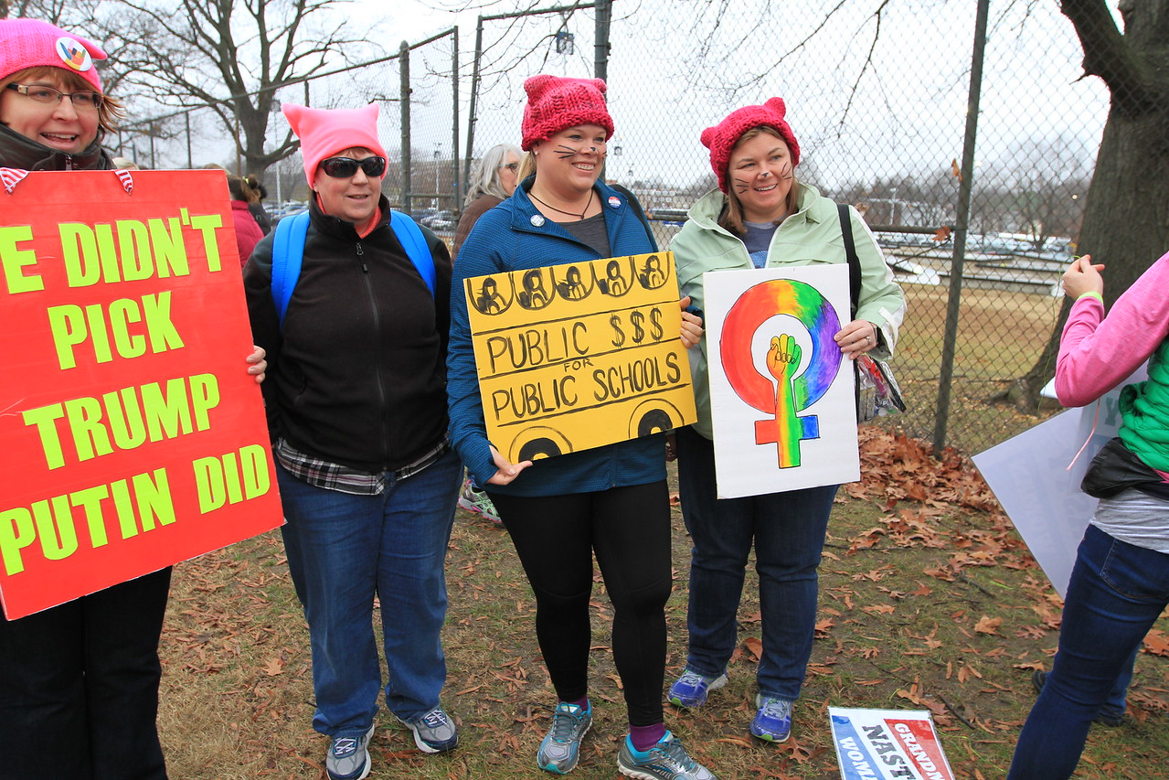 What made this march so special was that, while focusing on women, the range of issues addressed was vast.