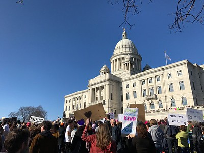 Women's March in Providence