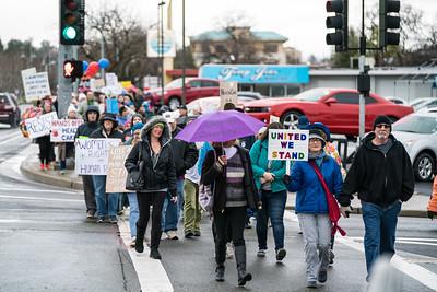 Women's March Redding