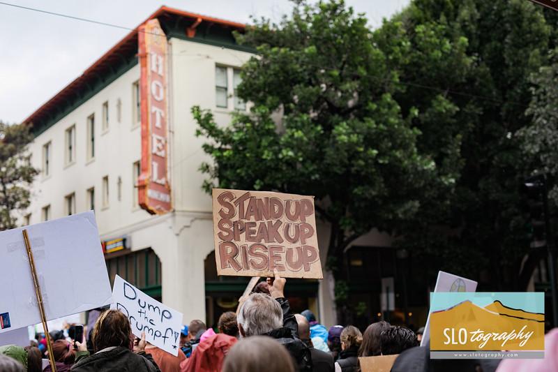Women's March ~ SLO_026