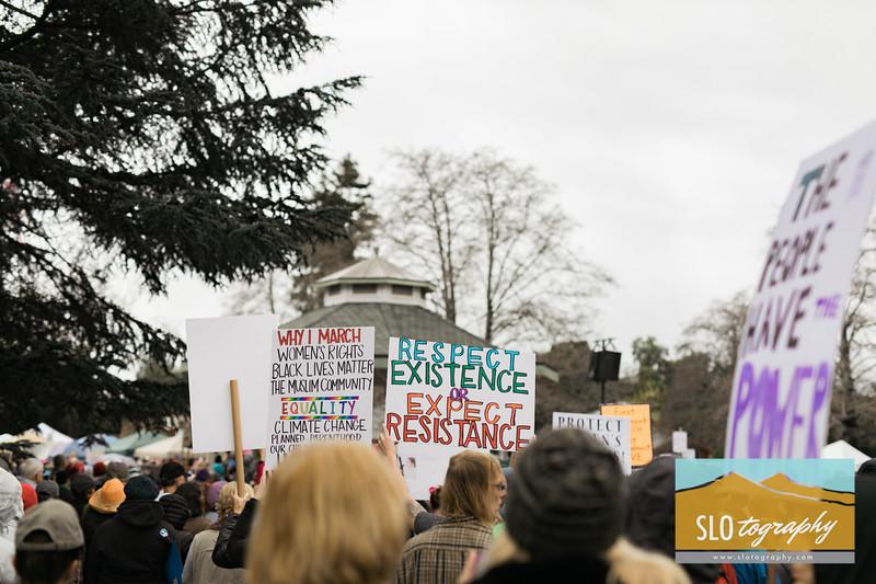 Women's March ~ SLO_006