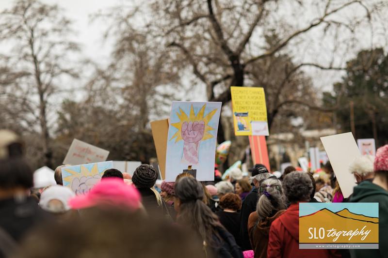 Women's March ~ SLO_005