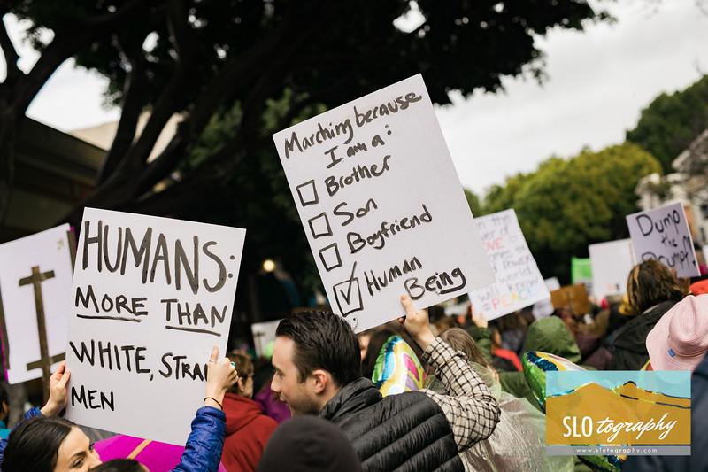 Women's March ~ SLO_028