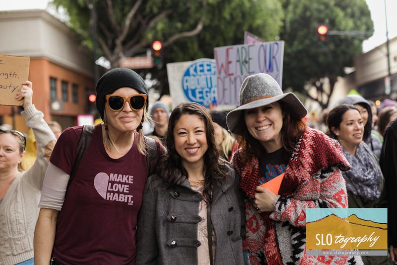 Women's March ~ SLO_031