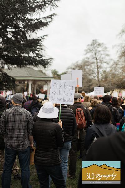 Women's March ~ SLO_002