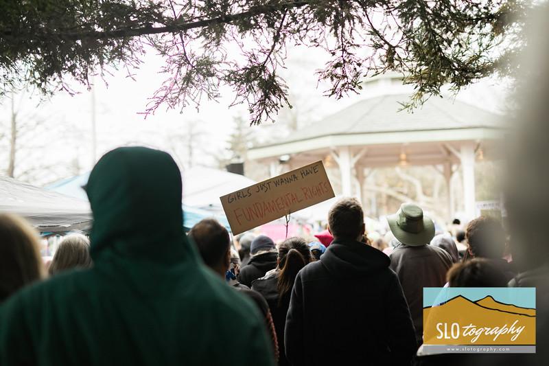 Women's March ~ SLO_010