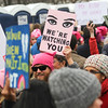 The Women's March on Washington, a protest the day after the inauguration of President Donald J Trump, Washington, D.C., United States