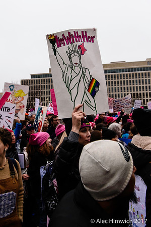 Women's March<br /> Washington DC<br /> January 21, 2017