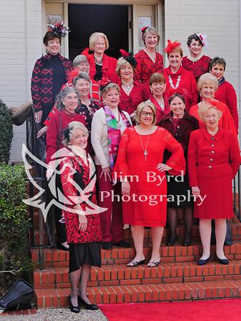 Women's club Red Dress