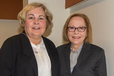 Marianne Berube and Lynn Embury-Williams