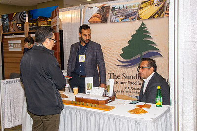 The Sundhar Group at their booth