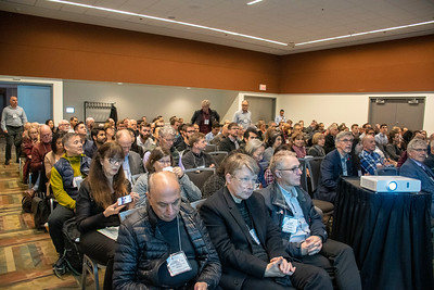 Delegates at a breakout session