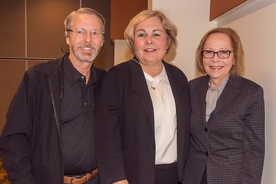 Kelly McCloskey, Marianne Berube and Lynn Embury-Williams