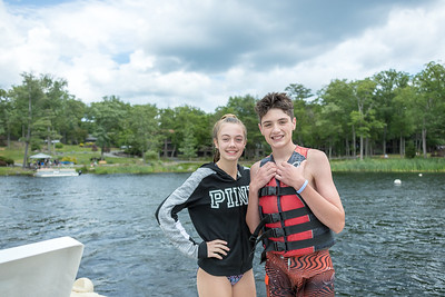 Woodlock, PA, Waterskiing, June  24, 2018