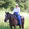 Sharon, Getting ready to ride