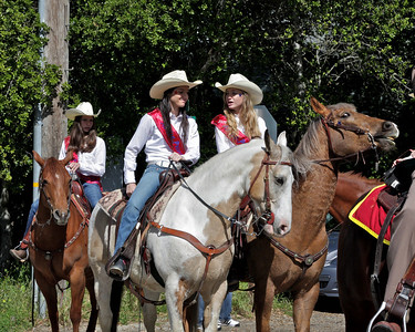 Mounted Patrol Jr. Rodeo Princesses