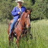 Cheryl Basin, Getting ready to ride