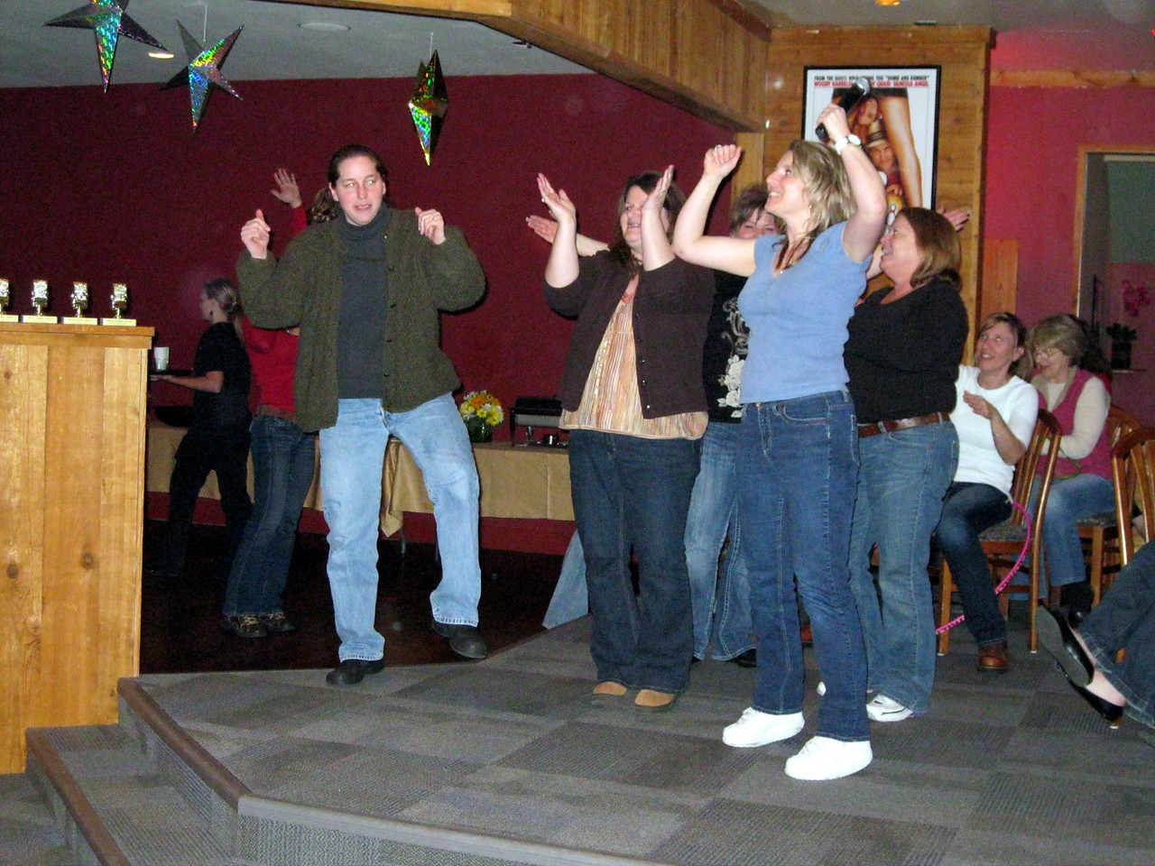 We even did the official YMCA dance moves.