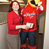 """Slapshot visits Carpathia Hosting brining a """"Mother's Day Gram"""" to CEO Peter Webber: Visit successfully completed"""
