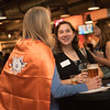 Workday netowrking event at MKT bar in Houston Texas during Grace Hopper Conference .