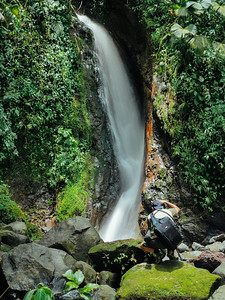 Waterfall at Arenal Hanging Bridges