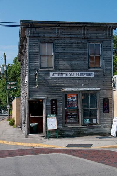 St Augustine - Old Drugstore Storefront