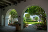 St Augustine - St. Photios National Greek Orthodox Shrine Courtyard (HDR)