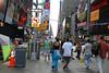 James & Fuji at Times Square.