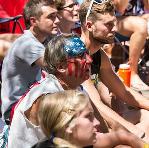 World Cup USA v. Belgium, City Center, Boise, 7-1-14