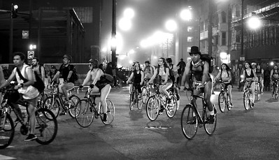 World Naked Bike Ride, Chicago, 2018. John Shippee Photography