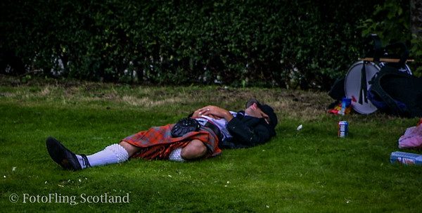 Kilted Exhaustion