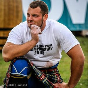 Gregor Edmunds - Scottish Heavyweight Champion