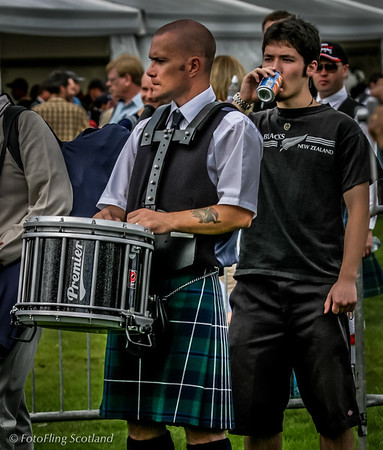 The Drummer's Tattoo The 2006 World Pipeband Championships, Glasgow