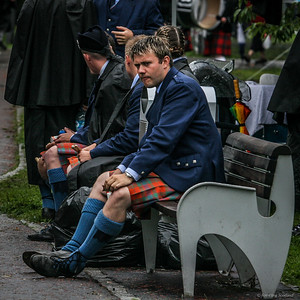 Kilties on a Bench