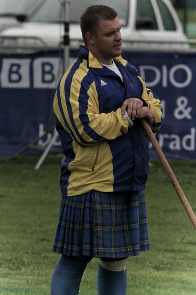 Heavy waits his turn World Pipeband Championships 2007