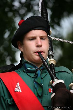 Lord Selkirk Boys Pipe Band Member