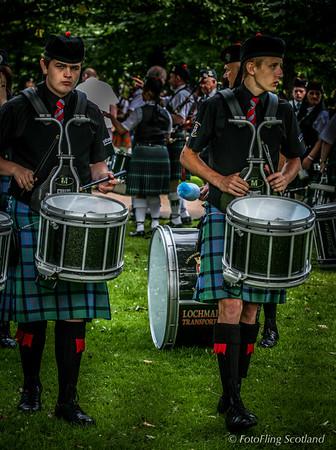 Drummers Practising